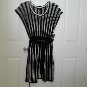 Belted Knit Dress
